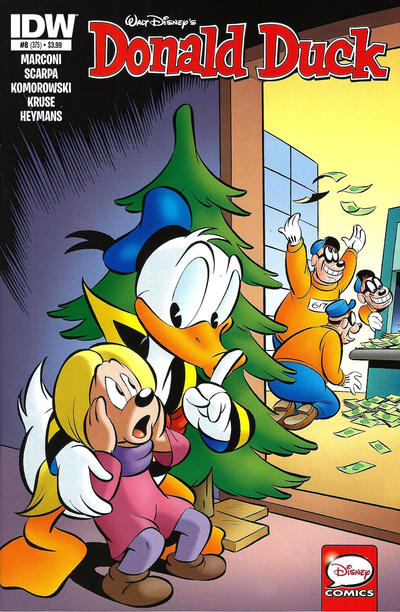 Cover for Donald Duck (IDW, 2015 series) #8 / 375