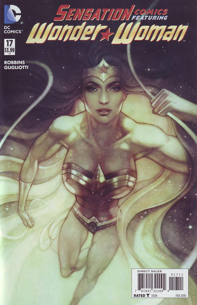 Cover for Sensation Comics Featuring Wonder Woman (DC, 2014 series) #17