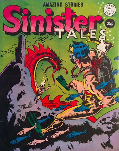 Cover for Sinister Tales (Alan Class, 1964 series) #212