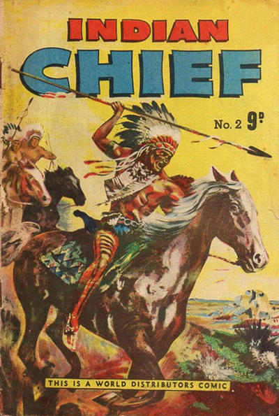 Cover for Indian Chief (World Distributors, 1953 series) #2