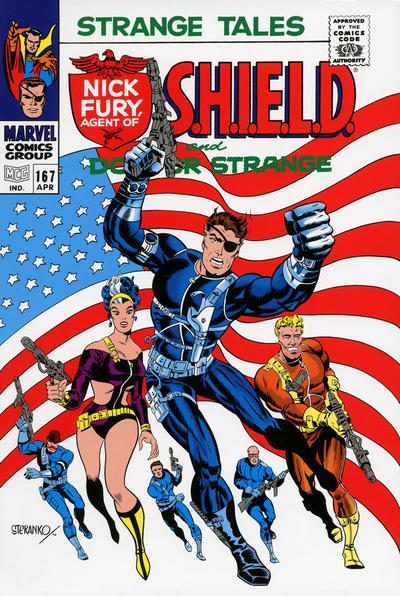 Cover for S.H.I.E.L.D.: The Complete Collection Omnibus (Marvel, 2015 series)