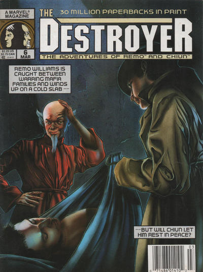 Cover for The Destroyer (Marvel, 1989 series) #6 [Newsstand]