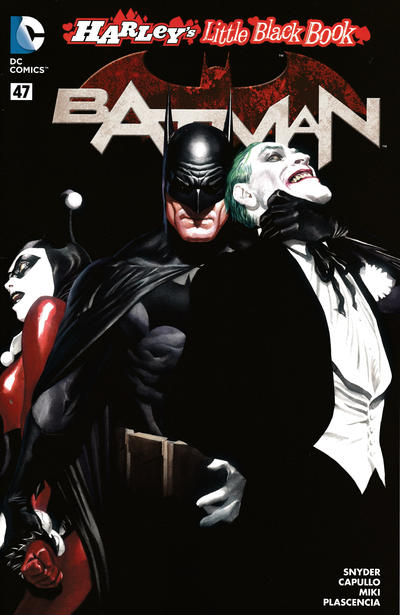 Cover for Batman (DC, 2011 series) #47 [Direct Sales]