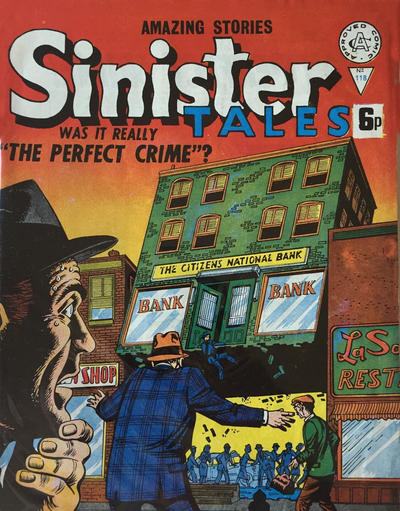 Cover for Sinister Tales (Alan Class, 1964 series) #118