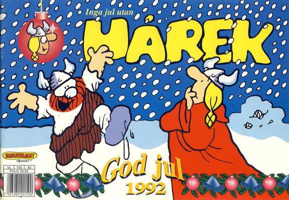 Cover for Hårek julehefte (Hjemmet / Egmont, 1981 series) #1992