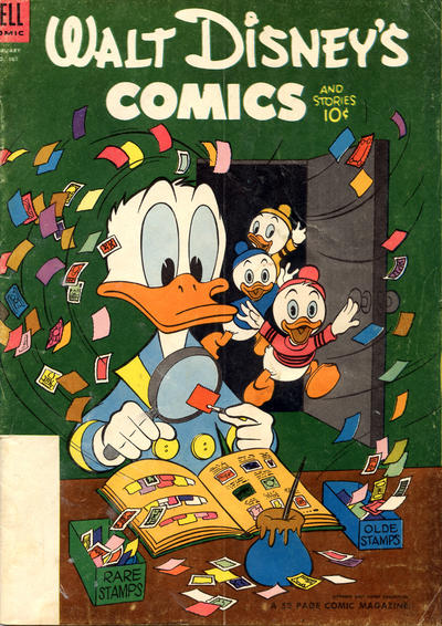 Cover for Walt Disney's Comics and Stories (Dell, 1940 series) #v14#5 (161)