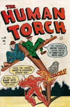Cover for The Human Torch (Superior Publishers Limited, 1948 series) #35