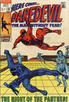 Cover Thumbnail for Daredevil (1964 series) #52 [British Price Variant]