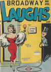 Cover for Broadway Laughs (Prize, 1950 series) #v9#6