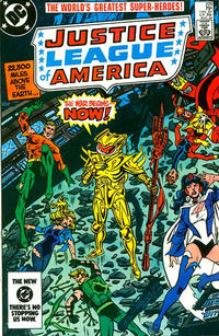 Cover Thumbnail for Justice League of America (DC, 1960 series) #229 [direct-sales]