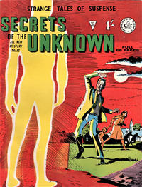 Cover Thumbnail for Secrets of the Unknown (Alan Class, 1962 series) #42