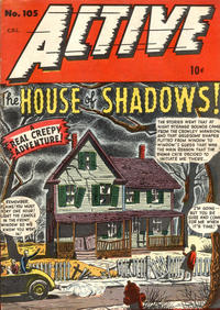 Cover Thumbnail for Active Comics (Bell Features, 1942 series) #105