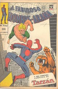 Cover Thumbnail for El Fabuloso Hombre Araña (Editorial Columba, 1966 ? series) #201