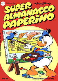 Cover Thumbnail for Super Almanacco Paperino (Arnoldo Mondadori Editore, 1980 series) #1