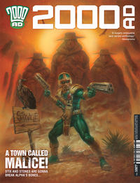 Cover Thumbnail for 2000 AD (Rebellion, 2001 series) #1927