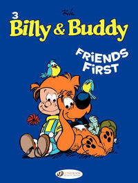 Cover Thumbnail for Billy & Buddy (Cinebook, 2009 series) #3 - Friends First