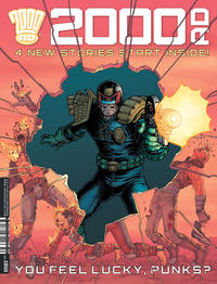 Cover Thumbnail for 2000 AD (Rebellion, 2001 series) #1950
