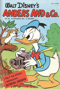 Cover Thumbnail for Anders And & Co. (Egmont, 1949 series) #38/1961