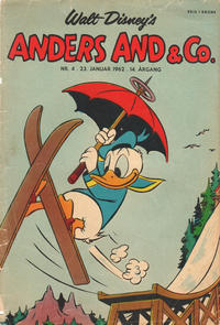 Cover Thumbnail for Anders And & Co. (Egmont, 1949 series) #4/1962