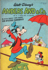 Cover Thumbnail for Anders And & Co. (Egmont, 1949 series) #10/1967