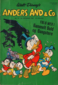 Cover Thumbnail for Anders And & Co. (Egmont, 1949 series) #39/1967