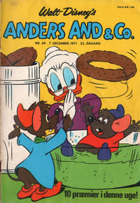 Cover Thumbnail for Anders And & Co. (Egmont, 1949 series) #49/1971
