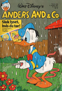 Cover Thumbnail for Anders And & Co. (Egmont, 1949 series) #41/1987