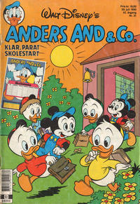 Cover Thumbnail for Anders And & Co. (Egmont, 1949 series) #31/1990