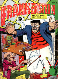 Cover Thumbnail for Frankenstein Comics (Arnold Book Company, 1953 series) #4
