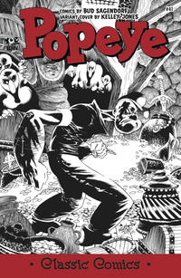 Cover Thumbnail for Classic Popeye (IDW, 2012 series) #41 [Kelley Jones variant cover]