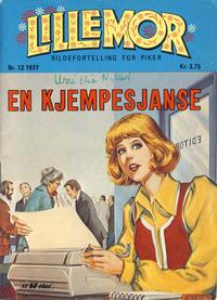 Cover Thumbnail for Lillemor (Serieforlaget / Se-Bladene / Stabenfeldt, 1969 series) #12/1977