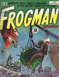 Cover Thumbnail for Frogman Comics (Thorpe & Porter, 1952 series) #5