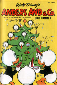 Cover Thumbnail for Anders And & Co. (Egmont, 1949 series) #51/1961