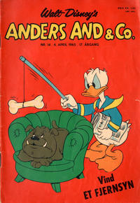 Cover Thumbnail for Anders And & Co. (Egmont, 1949 series) #14/1965