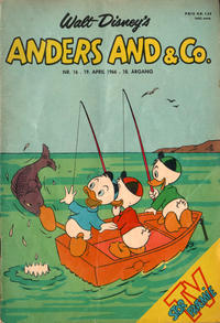 Cover Thumbnail for Anders And & Co. (Egmont, 1949 series) #16/1966