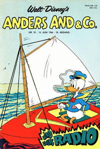 Cover Thumbnail for Anders And & Co. (Egmont, 1949 series) #24/1966