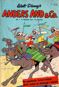 Cover Thumbnail for Anders And & Co. (Egmont, 1949 series) #7/1967