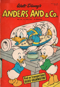 Cover Thumbnail for Anders And & Co. (Egmont, 1949 series) #24/1967