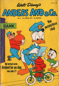 Cover Thumbnail for Anders And & Co. (Egmont, 1949 series) #4/1972