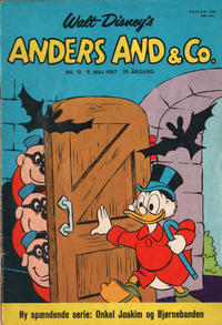 Cover Thumbnail for Anders And & Co. (Egmont, 1949 series) #19/1967