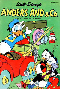 Cover Thumbnail for Anders And & Co. (Egmont, 1949 series) #24/1973