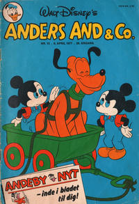 Cover Thumbnail for Anders And & Co. (Egmont, 1949 series) #15/1977