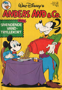 Cover Thumbnail for Anders And & Co. (Egmont, 1949 series) #2/1986