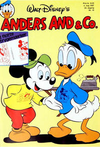 Cover Thumbnail for Anders And & Co. (Egmont, 1949 series) #19/1987