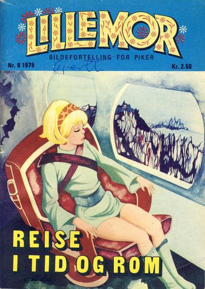 Cover for Lillemor (Serieforlaget / Se-Bladene / Stabenfeldt, 1969 series) #9/1975
