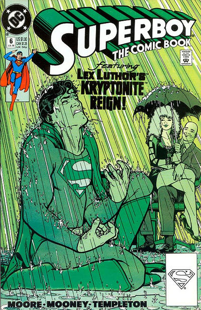 Cover for Superboy (DC, 1990 series) #6 [Direct Market Edition]