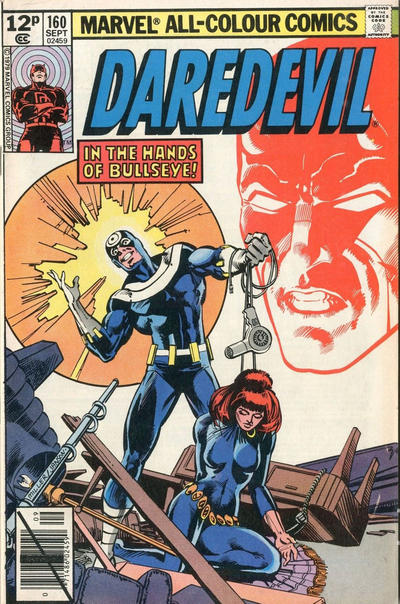 Cover for Daredevil (Marvel, 1964 series) #160 [Direct Edition]
