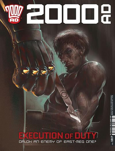 Cover for 2000 AD (Rebellion, 2001 series) #1917