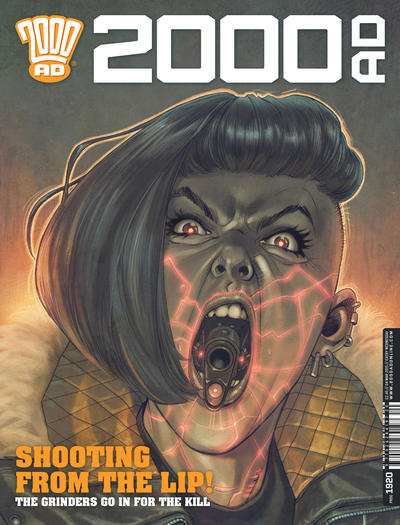 Cover for 2000 AD (Rebellion, 2001 series) #1920