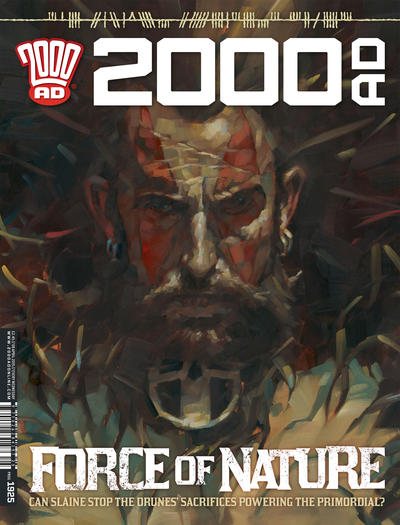 Cover for 2000 AD (Rebellion, 2001 series) #1925